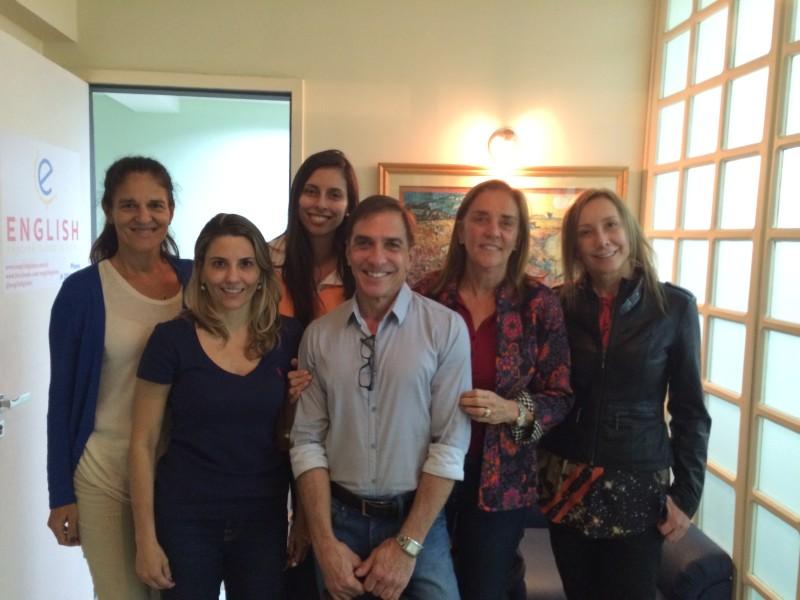Suzana Quinet, Rafaela Larcher, Sandra Villela, Andrea Thees, Paulo da Silva, Tarsila Ribeiro